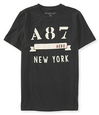 74% OFF! AUTH AEROPOSTALE MEN'S A87 BANNER LOGO GRAPHIC TEE LARGE BNEW US$24.50