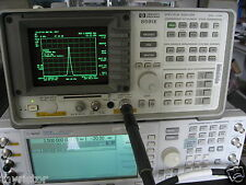 HP8591E Spectrum Analyzer Self-Cal Pass,  option 041