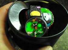 VINTAGE WARNER BROS STUDIO STORE EXCL MARVIN THE MARTIAN HOLO WATCH NIP