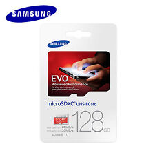 Original Samsung Micro SDXC EVO+ Plus 128GB UHS-I Class10 Memory Card MB-MC128DA