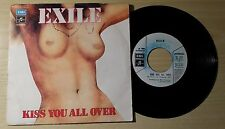 "EXILE - KISS YOU ALL OVER - 45 GIRI 7"" ITALY"