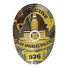Los Angeles Police Badge 526, Obsolete Collector LAPD Detective Badge