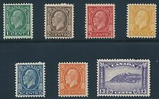 CANADA #195-201 VF OG NH SET OF 7 CV $312 BR6366