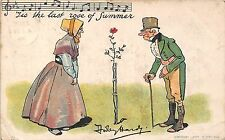 POSTCARD  COMIC   MUSIC  Related   The  last  rose  of  summer        HARDY