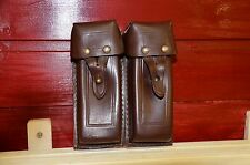 Authentic Soviet army, APS, Stechkin Automatic pistol, leather ammo pouch, brown