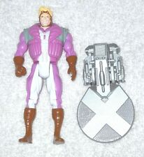 Marvel X-Men - Cannonball (pink outfit) (X-Force) - 100% complete (Toy Biz)