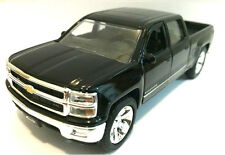 "Jada 2014 Chevy Silverado 1500 Pickup truck 1:32 diecast 5.25"" model Black"