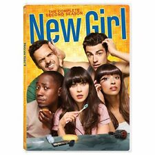 New Girl: The Complete Second Season (DVD, 3-Disc Set) Very Good