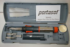 Portasol APSK Superpro 125 Butane Gas Soldering Iron & Heat Tool Kit New 4 Tips