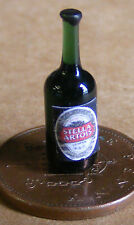 1:12 Real Glass Bottle Of Stella Artois Doll House Miniature Bar Accessory Lager