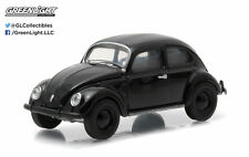 NEW! 1:64 GreenLight *BLACK BANDIT R12* 1938 VW Volkswagen Type 1 Beetle *NIP*