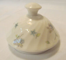 Wedgwood APRIL FLOWERS Lid for Coffee or Tea Pot Blue Purple Floral