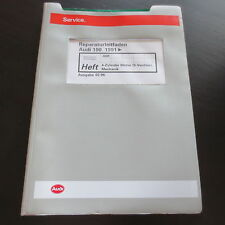Werkstatthandbuch Audi 100 A6 Typ C4 / 1,8 L 4-Zyl. Motor Mechanik ADR 125 PS