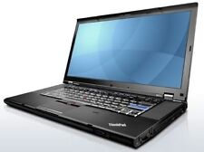 Lenovo ThinkPad t510 15,6 POLLICI LAPTOP Core i5 2,4ghz 4gb ddr3 250gb win7p