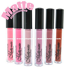 KLEANCOLOR 6 SHADES MADLY MATTE LIP GLOSS NUDE PINK COLLECTION LIQUID LG1811