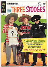 The Three Stooges #34 (Gold Key 1967 fn-vf 7.0) guides at $25.00 (£19.00)