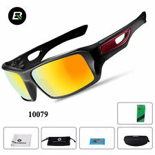 RockBros Polarized Cycling Full Frame Cycling GF352 Glasses Goggles Black Red
