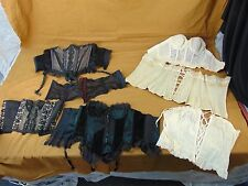 Lot of Retired STAGE PROPS From Hendrickson Photos AS-IS CORSETS