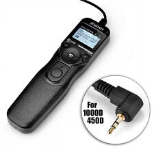 SHOOT RS-60E3 Timer Remote Control shutter Release Cable Cord Canon EOS SLR New