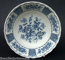 Myott Staffordshire Melody Blue Pattern Soup Cereal / Dessert Bowl 16cm Dia