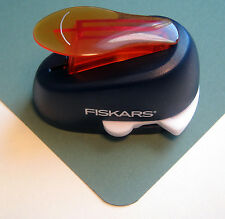 Fiskars LARGE ROUND Corner Rounder Lever Punch Scrapbook Paper Punch - NEW