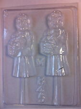 Flower Girl Day of the Dead Catrina Chocolate Mold