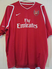Unworn Nike Arsenal Official 2011-2012 Training Football Shirt Size XXL /40101