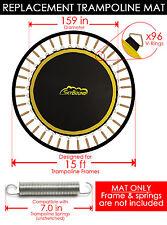 """SkyBound Premium 159"""" Trampoline Mat w/ 96 V-Rings for JumpKing - JK1511"""
