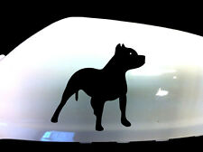 Pitbull Dog Car Sticker Wing Mirror Styling Decals (Set of 2), Black
