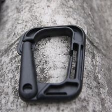 1pc New Tactical Outdoor D-Molle Webbing Plastic Backpack Vest Carabiner Buckle