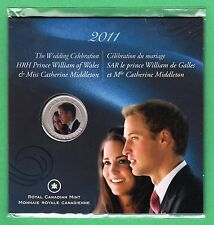 2011 25 Cents Commemorative William & Kate Wedding Coin - RCM