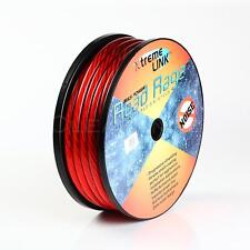 50 ' ft Road Rage 2/0 Gauge AWG RED Power Ground Wire W/ Spool Sky High GA ft