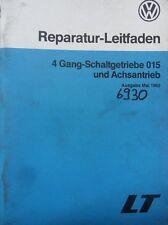 Werkstattbuch Reparaturleitfaden VW LT 4 Gang-Schaltgetriebe 015 #6930