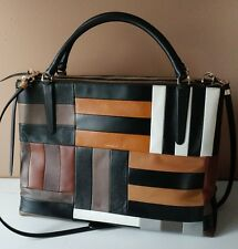 Coach Large Patchwork Leather Borough Bag 30373
