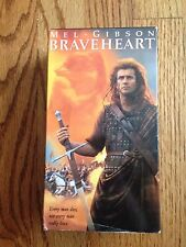 Braveheart (2 VHS Set - Movie) Mel Gibson, Sophie Marceau