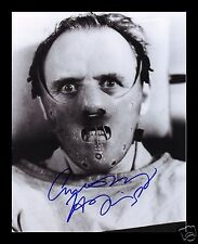 ANTHONY HOPKINS - SILENCE OF THE LAMBS SIGNED AND FRAMED PP PHOTO POSTER