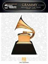 GRAMMY AWARDS RECORD OF THE YEAR 1958-2011 EASY PLAY PIANO SHEET MUSIC SONG BOOK