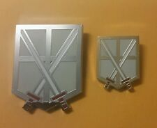 Attack on Titan metal Trainees Squad Corps pin Set (2)