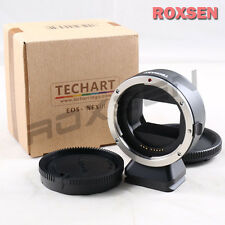Techart AF Auto Focus III Canon EOS EF lens to Sony E NEX adapter A7 A7R II A7S