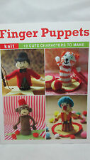 Finger Puppets by Susie Johns Paperback Book - Patterns to Knit