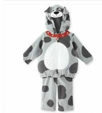 Carter's 2pc Fleece Puppy Dog Spot Costume Dress up Carnival Halloween 6-9 NWT