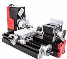 DIY Tool CNC Metal Motorized Mini Lathe Machine 20000rev/min