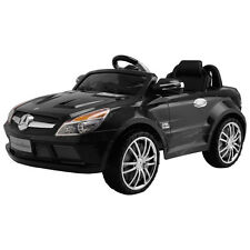 Mercedes-Benz SL65 12V Electric Kids Ride On Car Music RC Remote Control Black