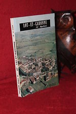 LOT ET GARONNE Guide officiel union syndicats initiatives Lot et Garonne 1975