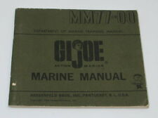 Vintage GI Joe Marine Manual MM77-00 GI2078