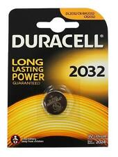 10 x Duracell CR2032 3V Lithium Coin Cell Battery 2032 DL2032/CR/BR2032 - New