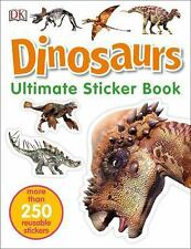 Ultimate Sticker Book: Dinosaurs by Dorling Kindersley Publishing Staff...