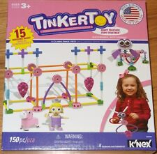 Tinker Toy 150 Piece Pink Building Set Construction TinkerToy 15 Ideas 56508
