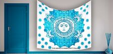 Sun Wall Tapestry Hanging Hippie Moon Indian Bedspread Psychedelic Zodiac Decor