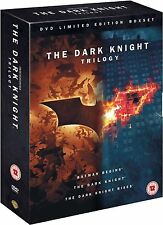 DARK KNIGHT Trilogy Complete DVD Collection Boxset BATMAN BEGINS RISES 1 2 3